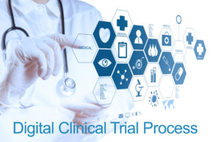 Digital clinical trials